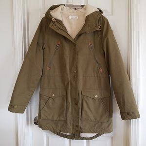 Volcom anorak jacket womens size large